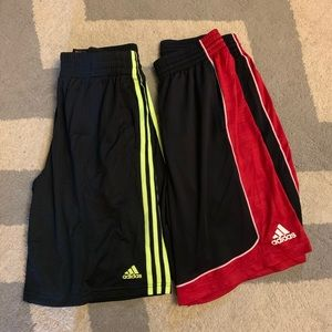 Men's adidas basketball shorts LG large